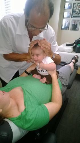Dr. B Adjusts Infants and Children