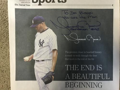 Mariano Rivera Message to Dr. B